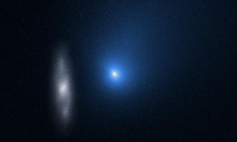 Hubble Watches Interstellar Comet Borisov Speed Past the Sun