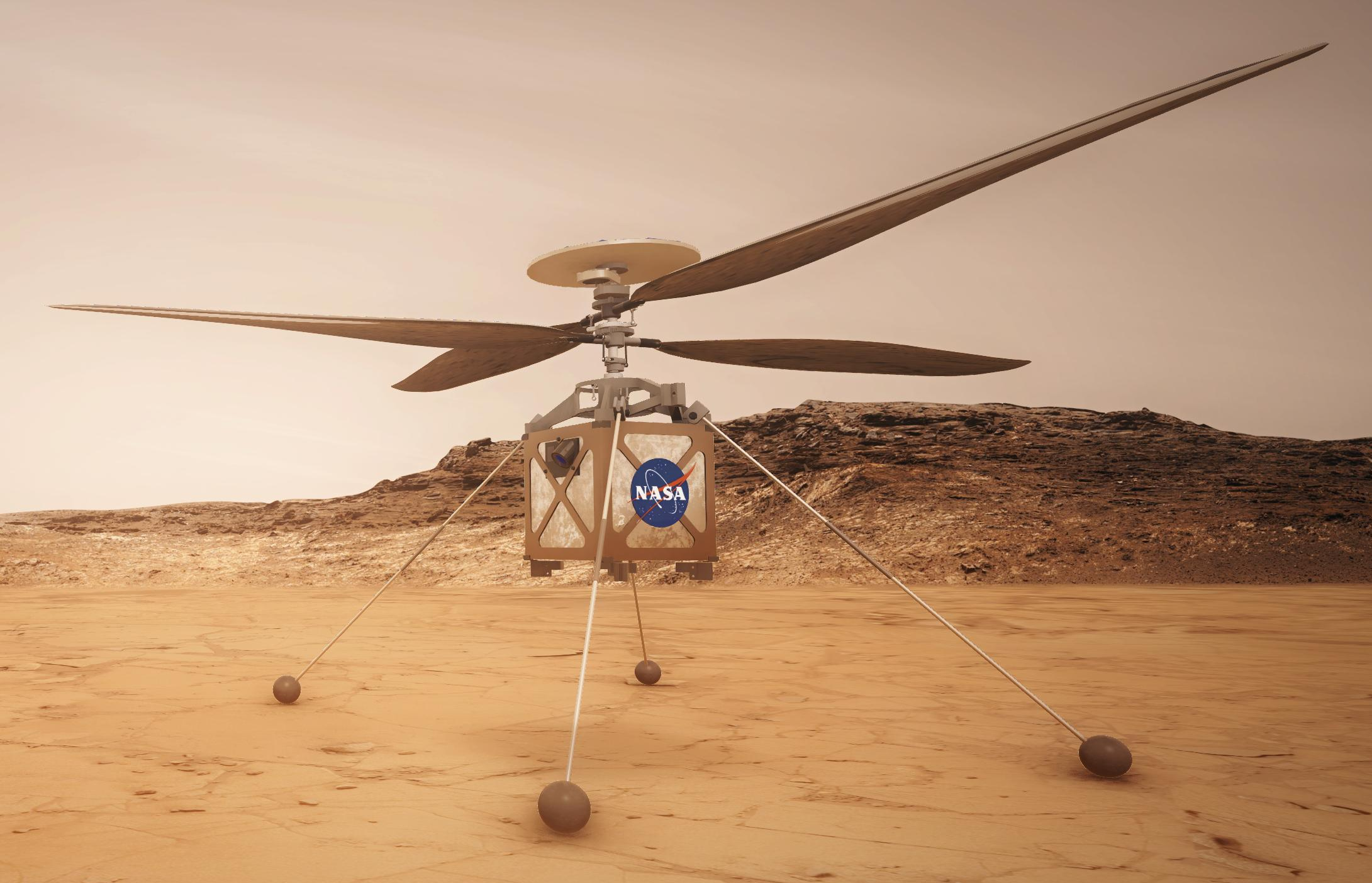 NASA's Mars Helicopter is Now Called Ingenuity – Dual Dove