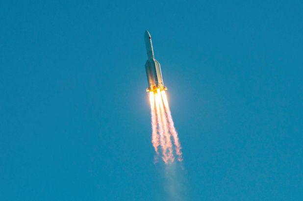 Chinese rocket crash-lands near Mauritania