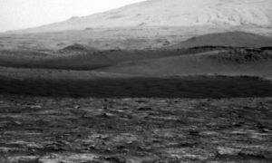 martian ground examined
