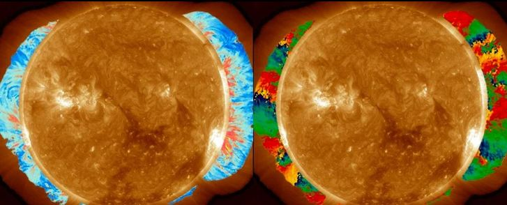 sun's corona measured