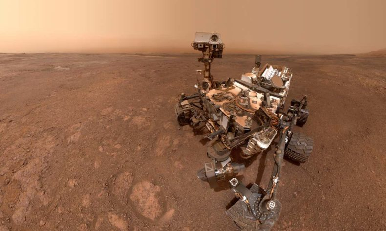 New research says liquid water might exist on Mars