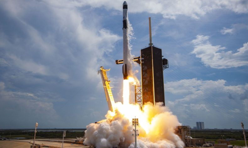 See a SpaceX Falcon 9 rocket launch and a new landing from Assam
