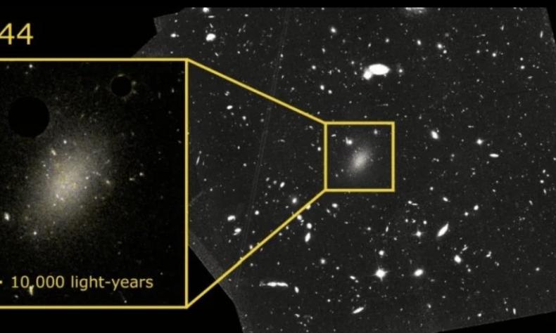 a galaxy 99.99 % dark matter