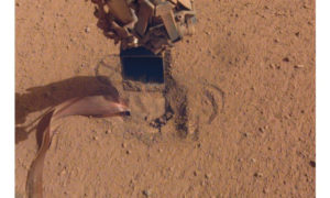 NASA's InSight's Mole