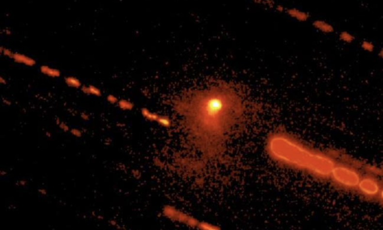 activity on distant planetary object